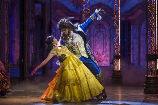Beauty And The Beast on the Disney Dream