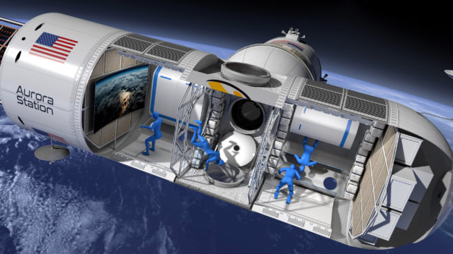 Aurora Space Station hotel.