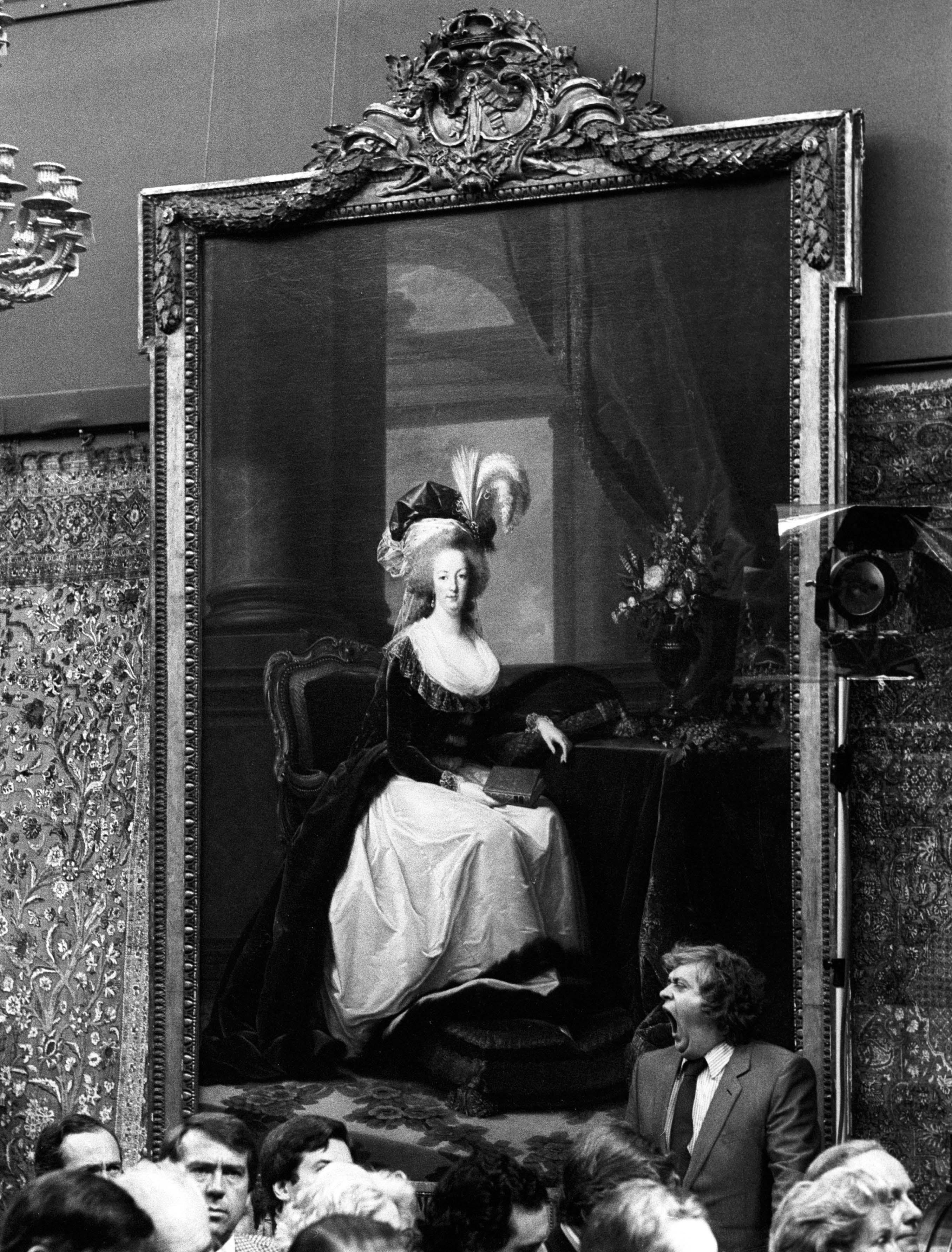 A portrait of Marie-Antoinette (PA)