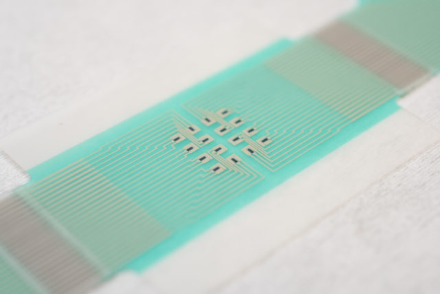 The patch, developed by University of Bath scientists, has been tested on pig skin and human volunteers (University of Bath/PA)