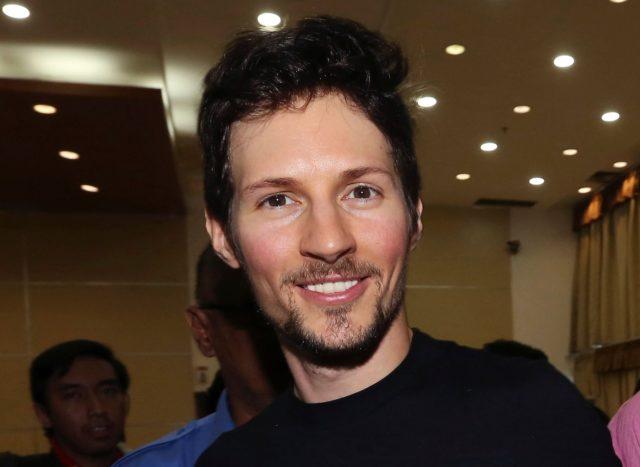 Telegram co-founder Pavel Durov