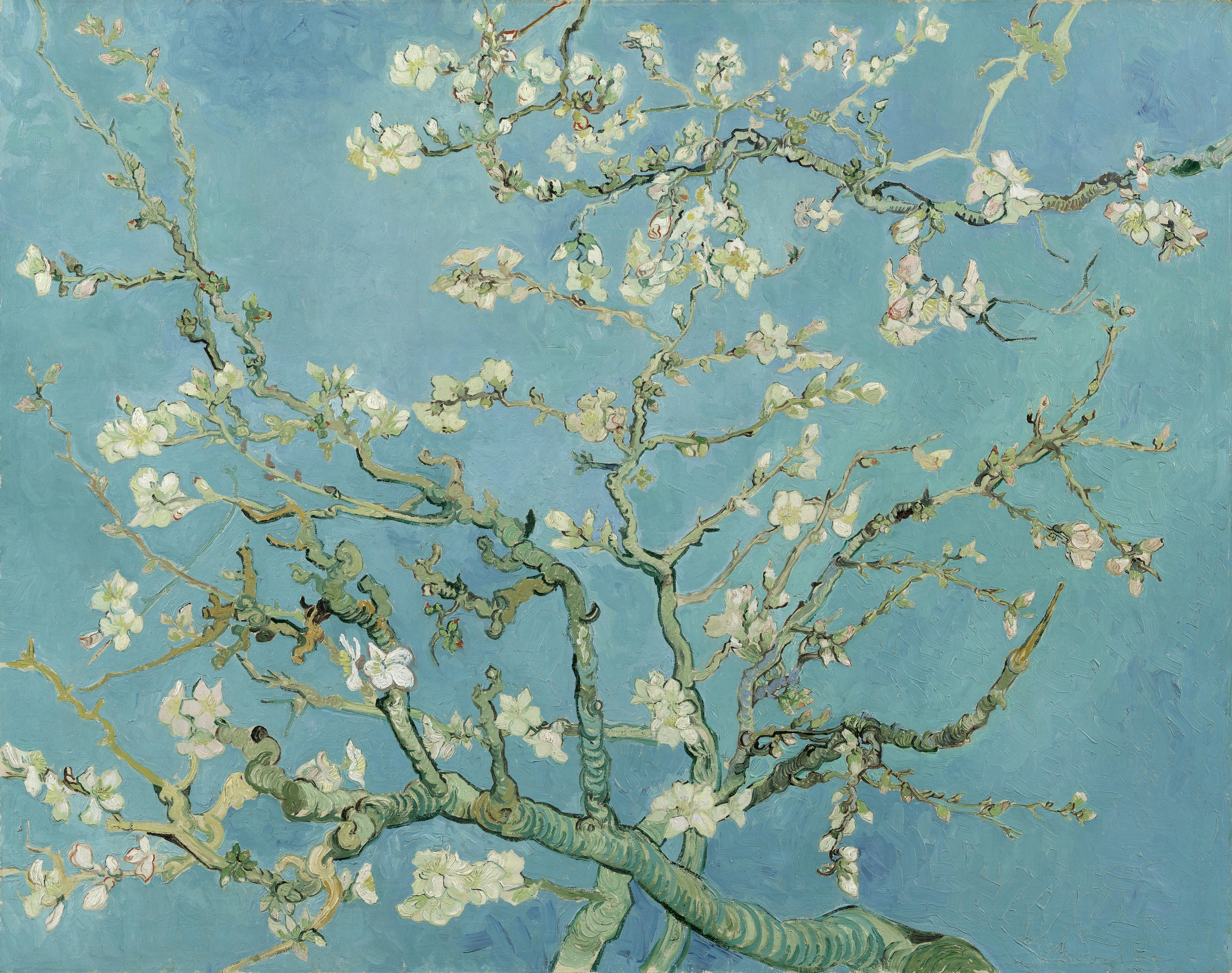 Almond Blossom by Vincent van Gogh (Van Gogh Museum/PA)