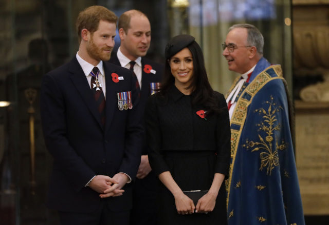 Harry, William and Meghan