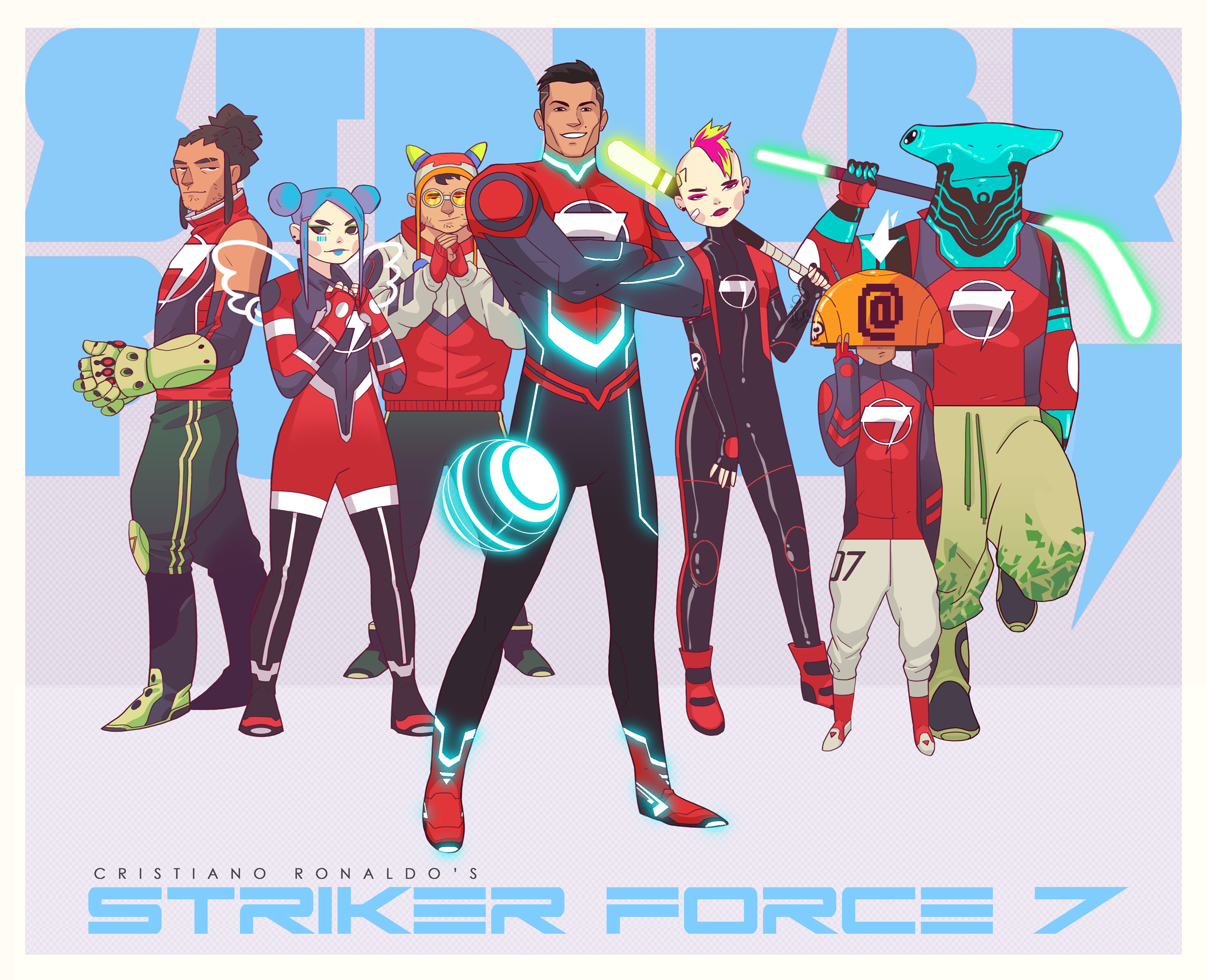 Ronaldo in Strike Force 7