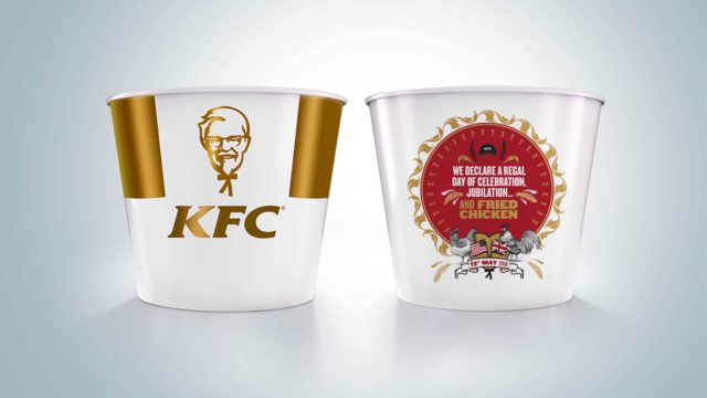 The KFC limited-edition commemorative bucket (KFC/PA wire)