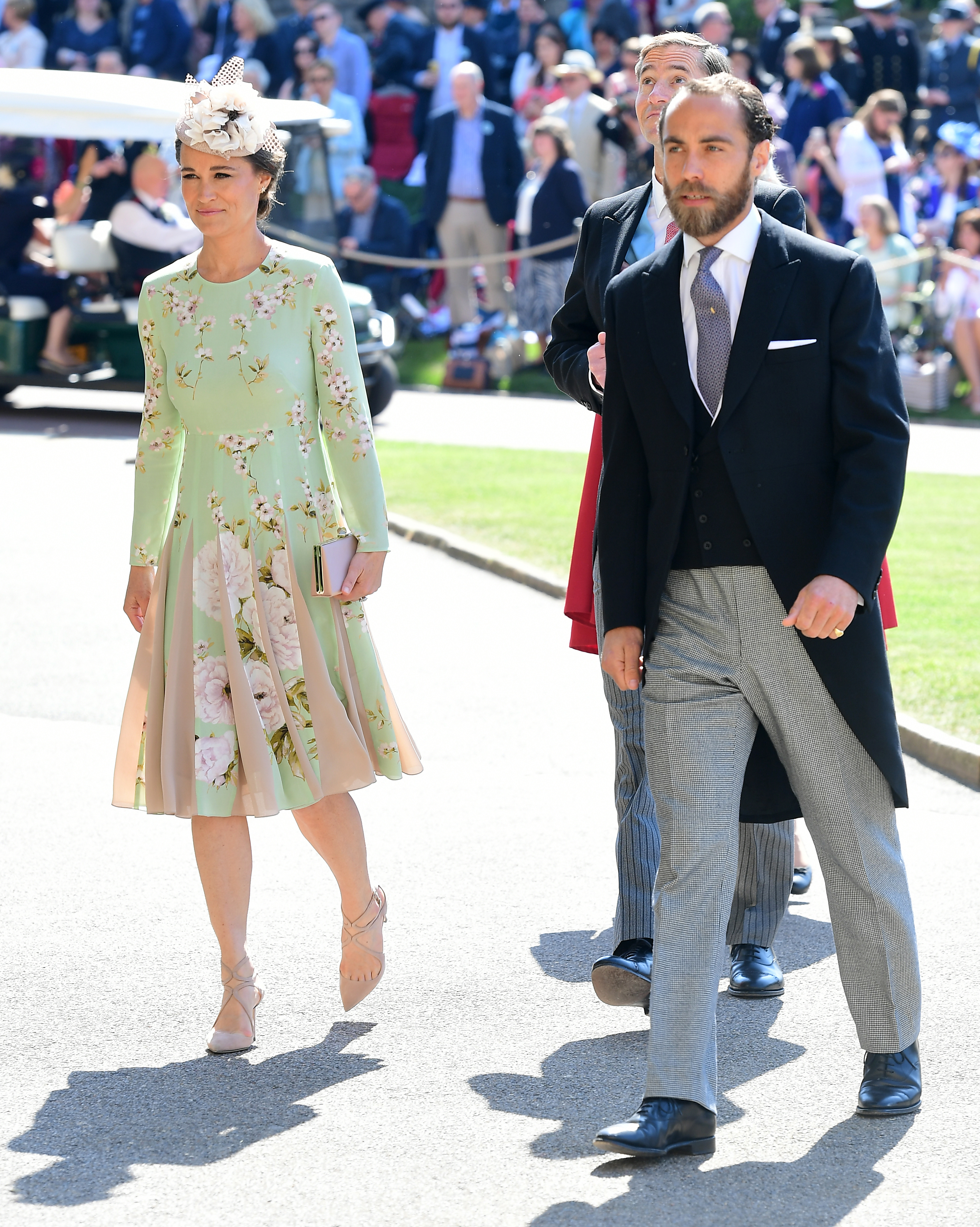 e837425241a Pippa Middleton and James Middleton arrive at St George s Chapel at Windsor  Castle for the wedding