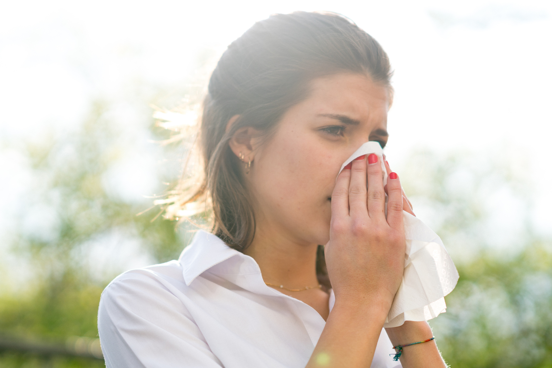 Pollen and mould set off the sneezes (Thinkstock/PA)