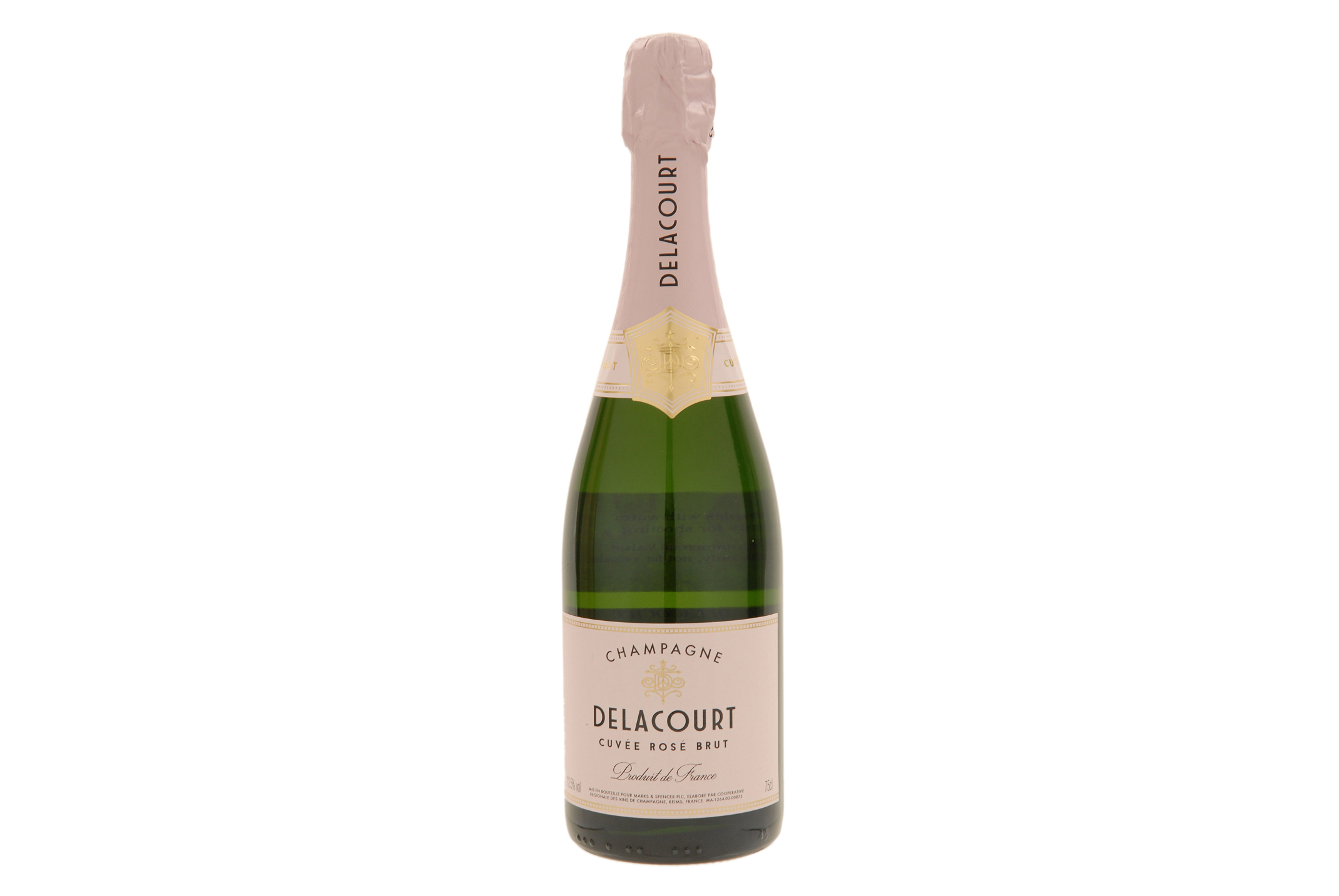 Delacourt Rose NV Champagne