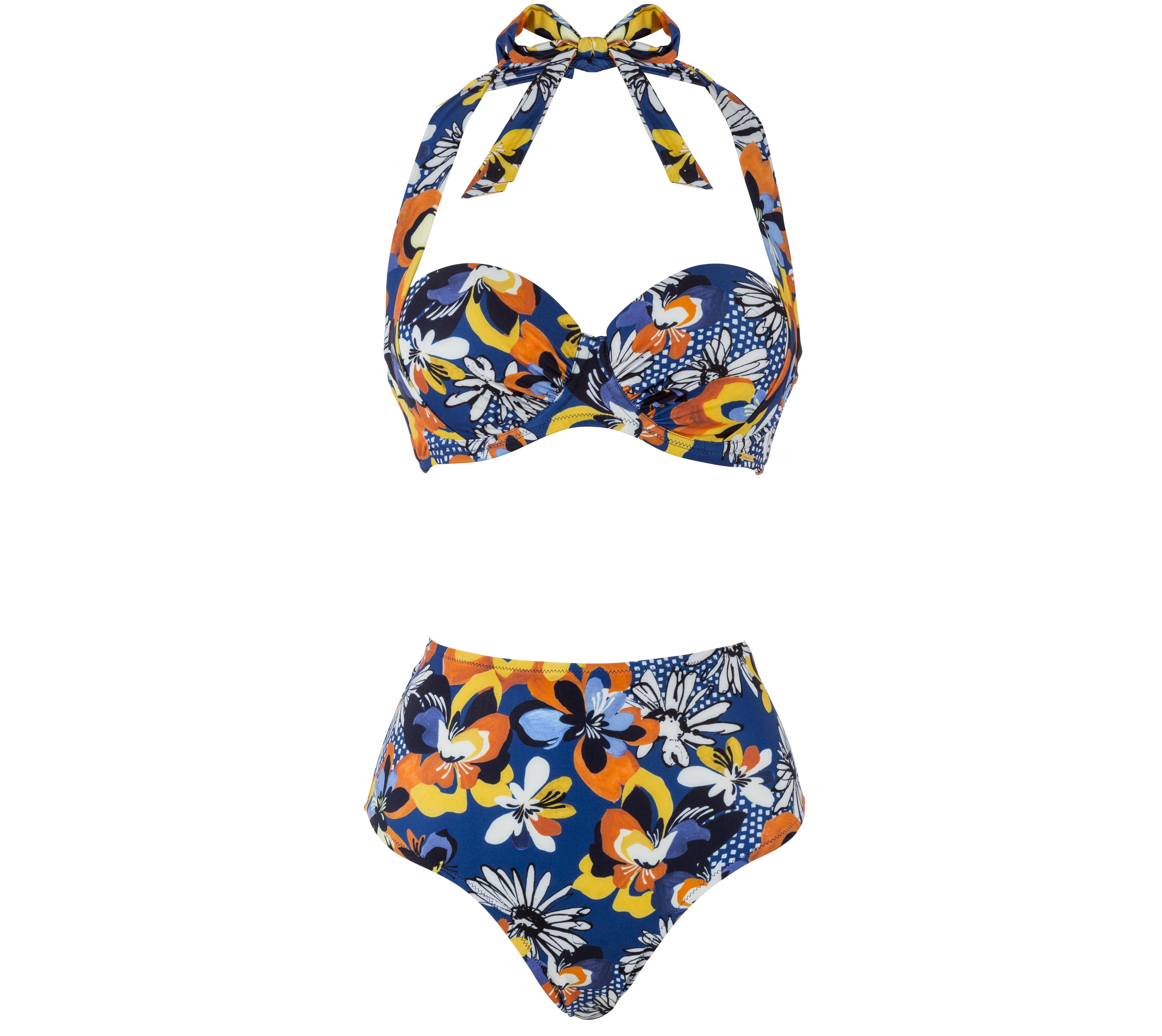 b36c0012b1 Boux Avenue Adelaide Sling Bikini Top and High-waisted Bikini Briefs