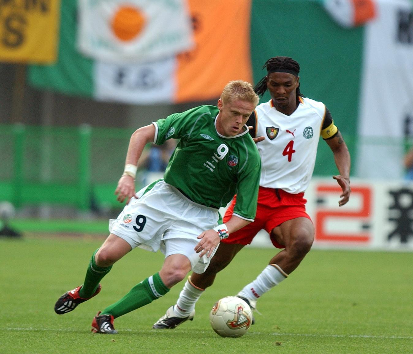 Ireland v Cameroon at the 2002 Fifa World Cup