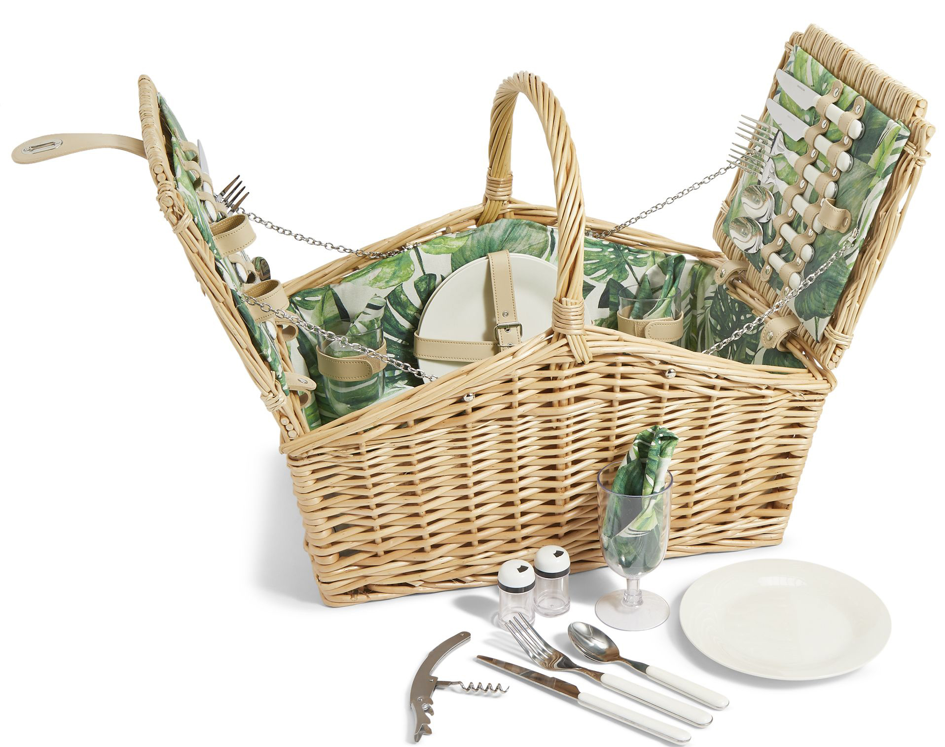 M&S Four Person Fresh Greens Hamper