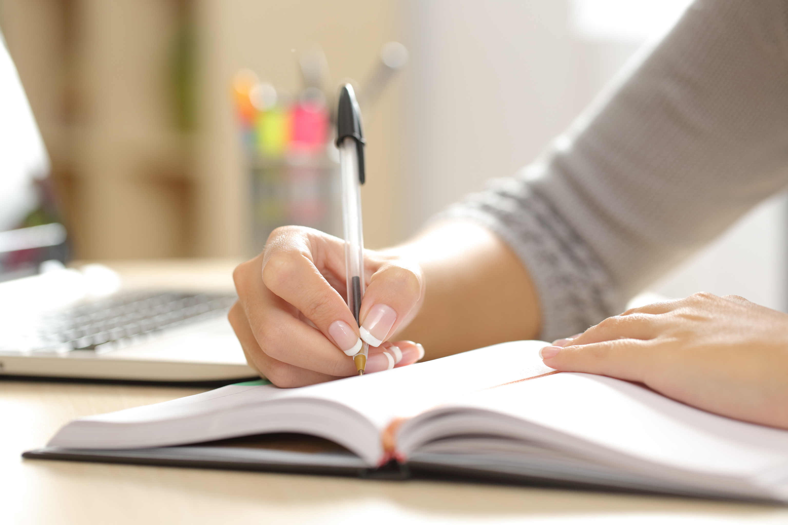 Writing down thoughts and feelings can help you offload and be a relaxing routine (Antonio Guillem,Thinkstock/PA)