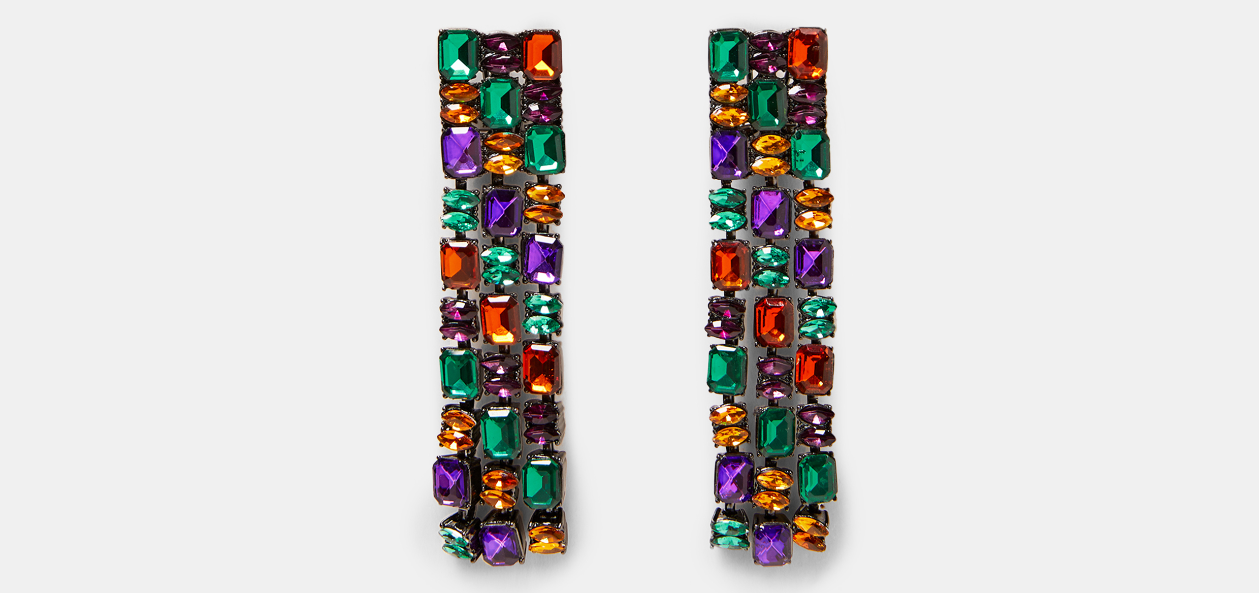 Zara Long Coloured Earrings