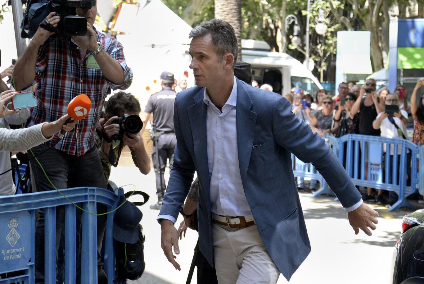 Spanish court upholds prison sentence for princess's husband