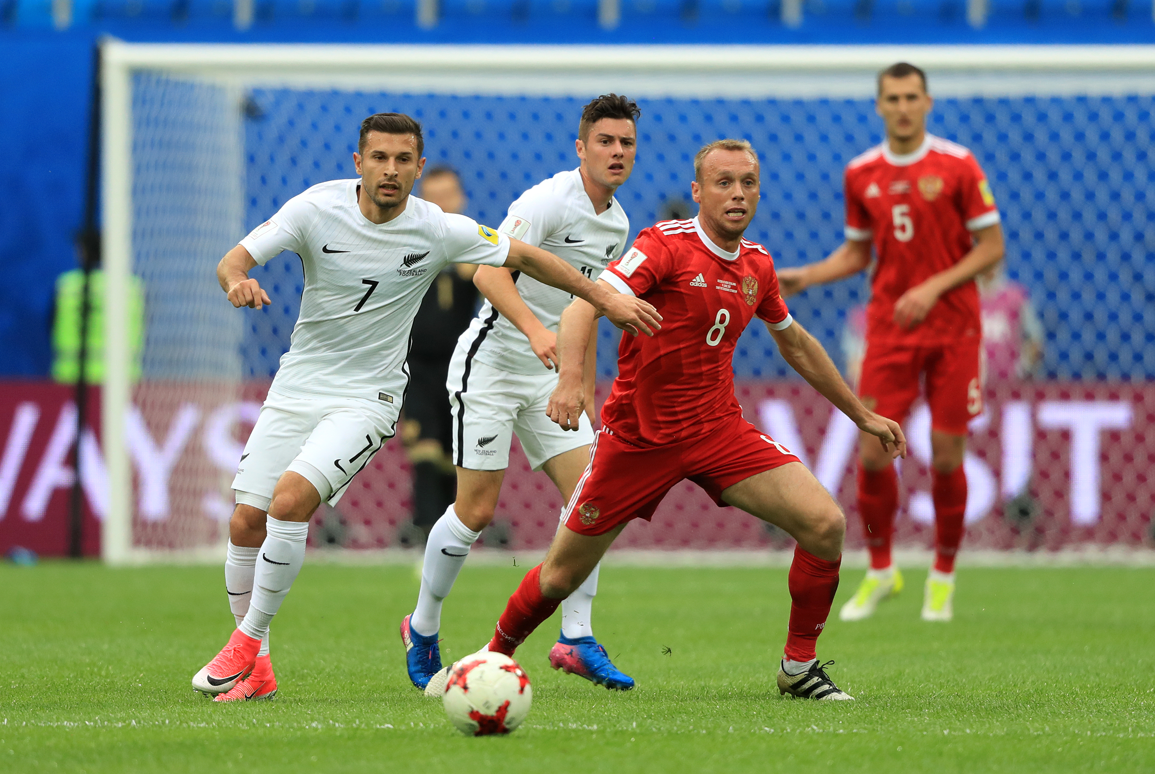 Russia v New Zealand at the 2017 Fifa Confederations Cup