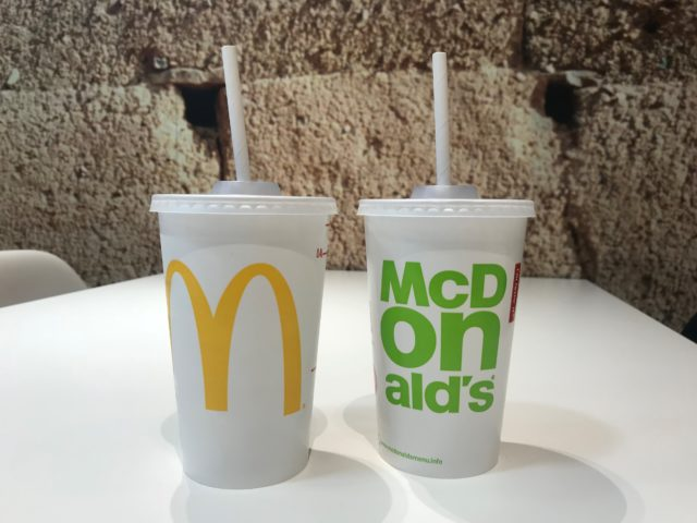 McDonald's to swap out plastic straws for paper alternatives in UK, Ireland