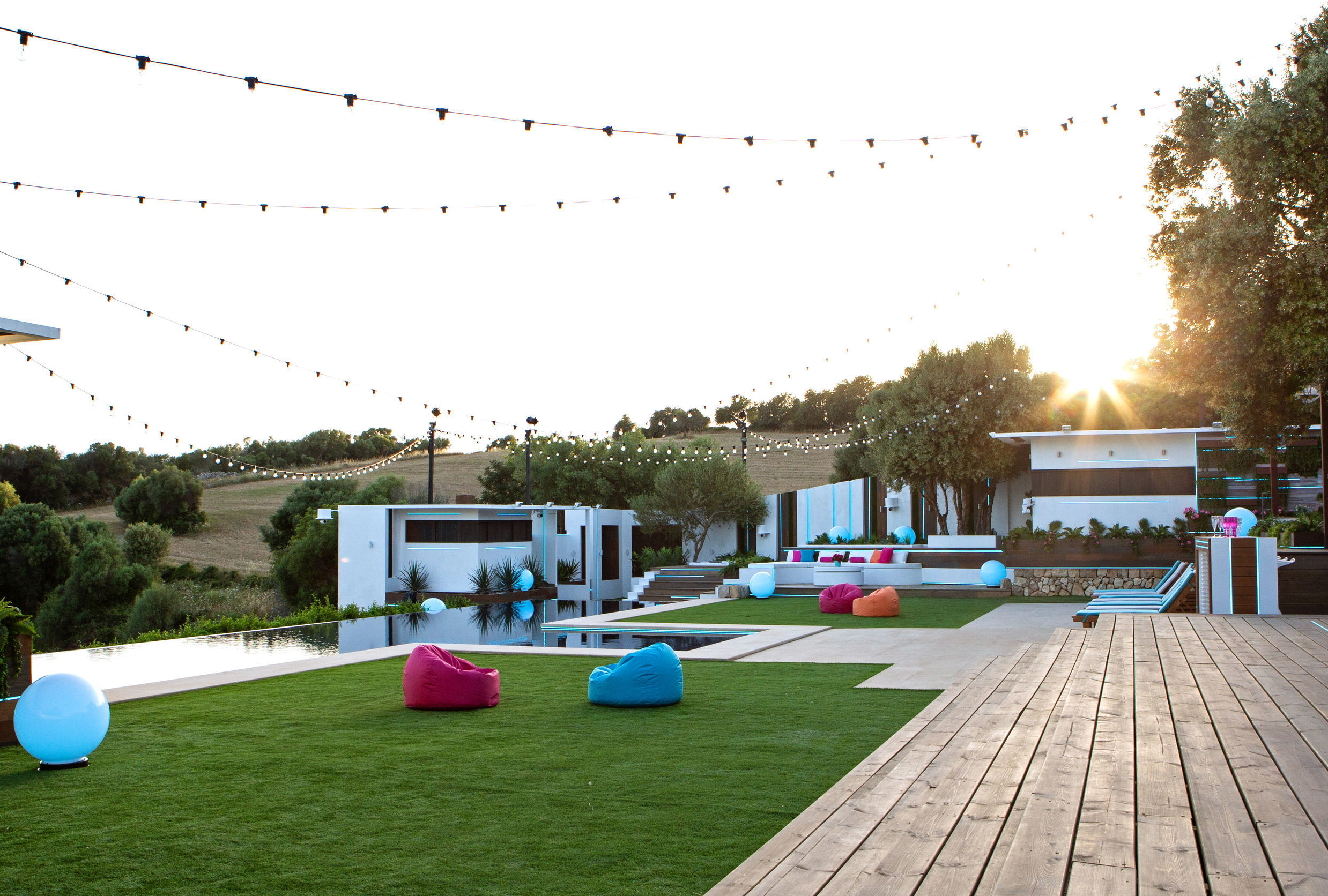 Garden Area And Pool At The Love Island Villa (Itvpa)
