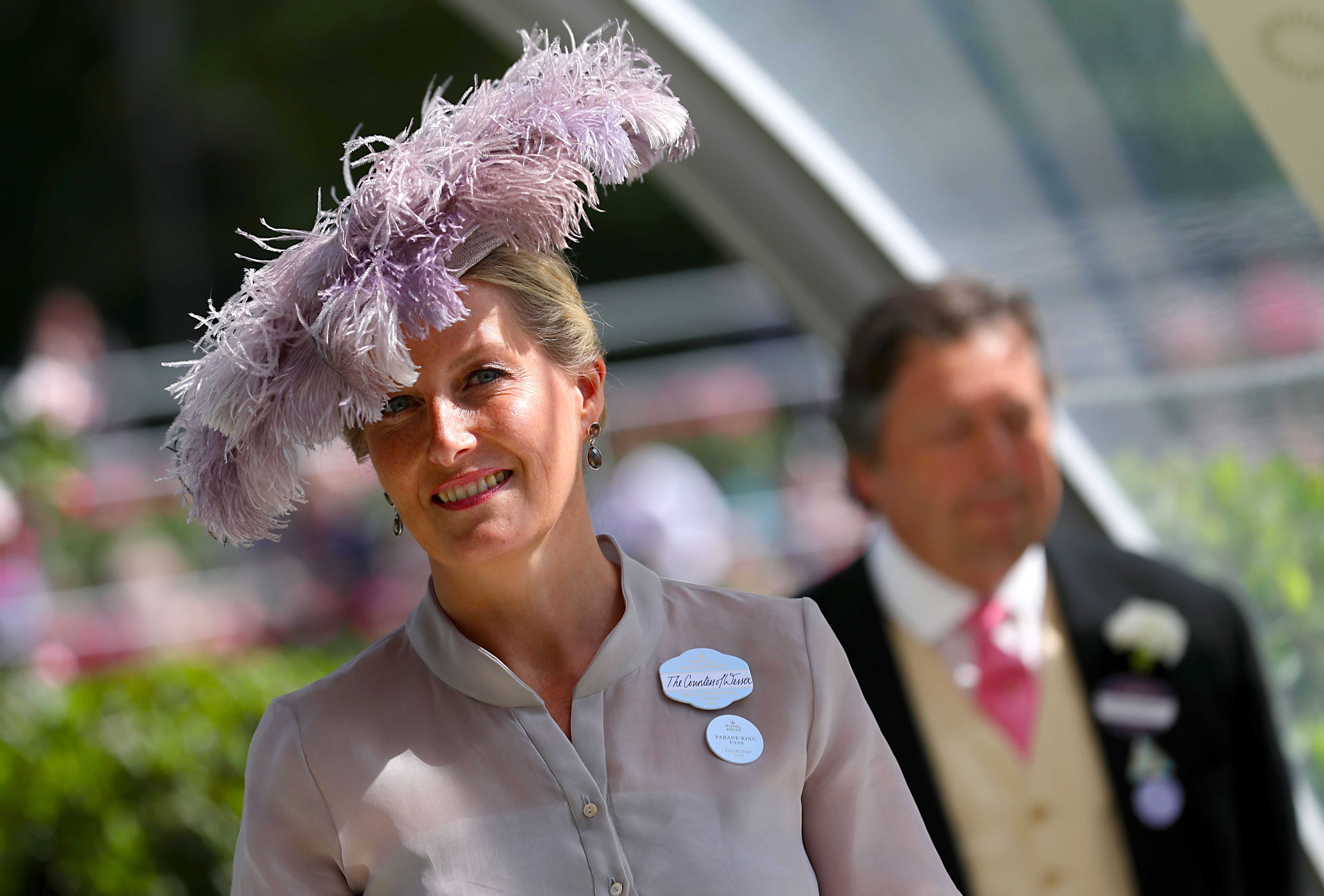 Countess of Wessex at Ascot