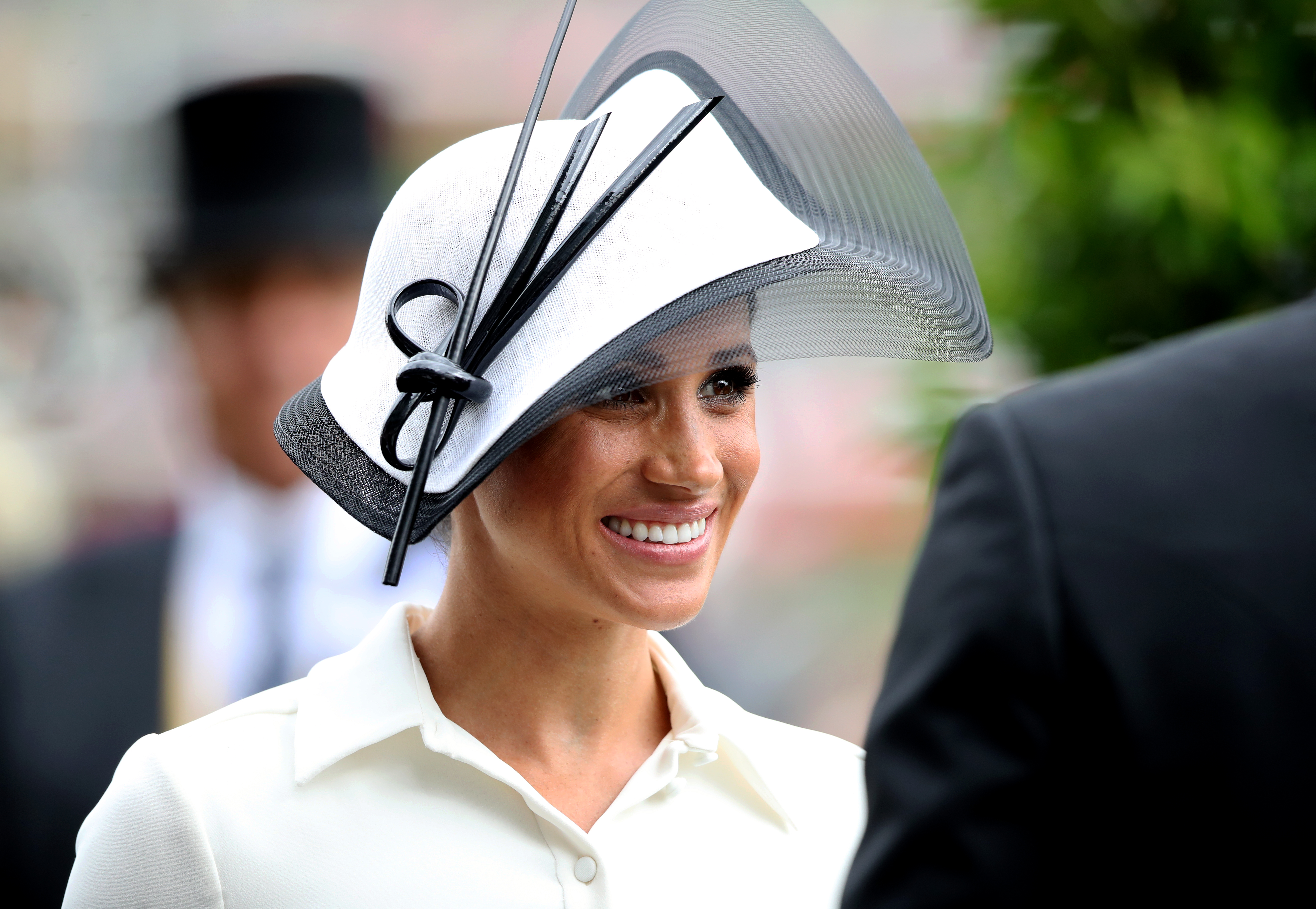 Duchess of Sussex at Ascot