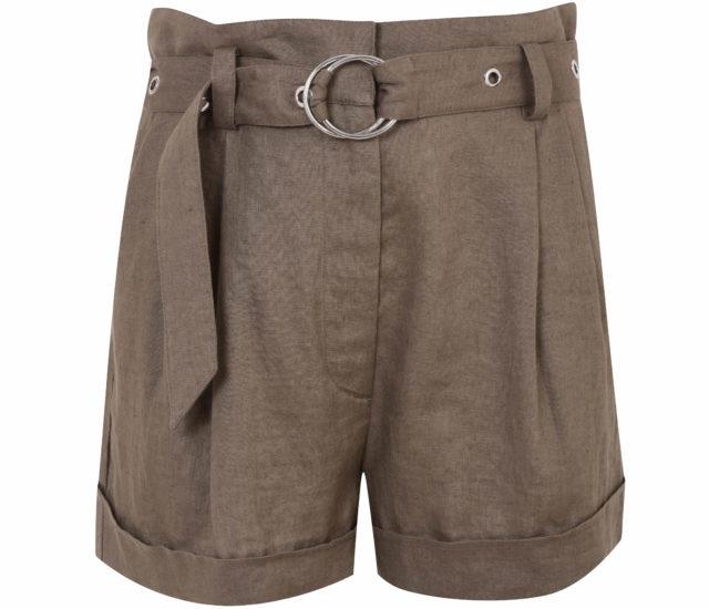 Dorothy Perkins Khaki Eyelet Shorts