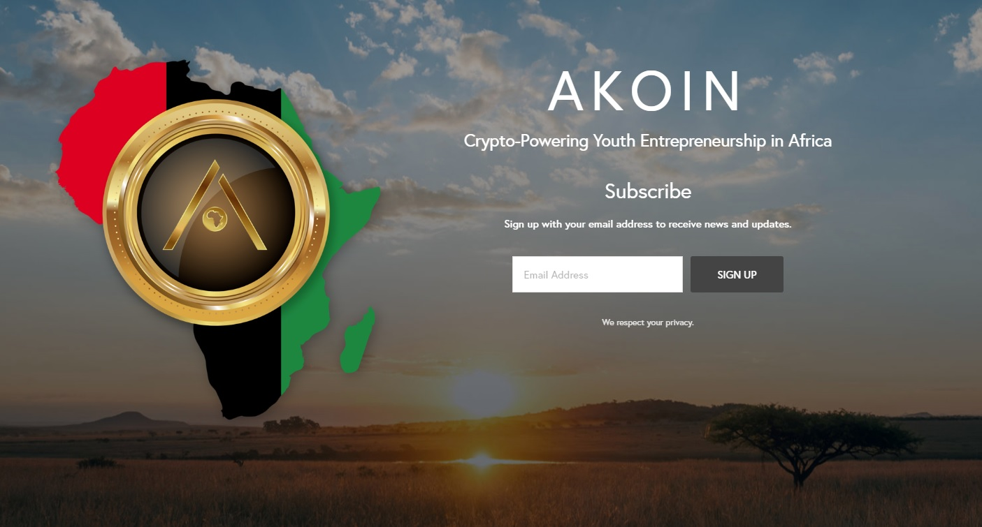 The Akoin Website