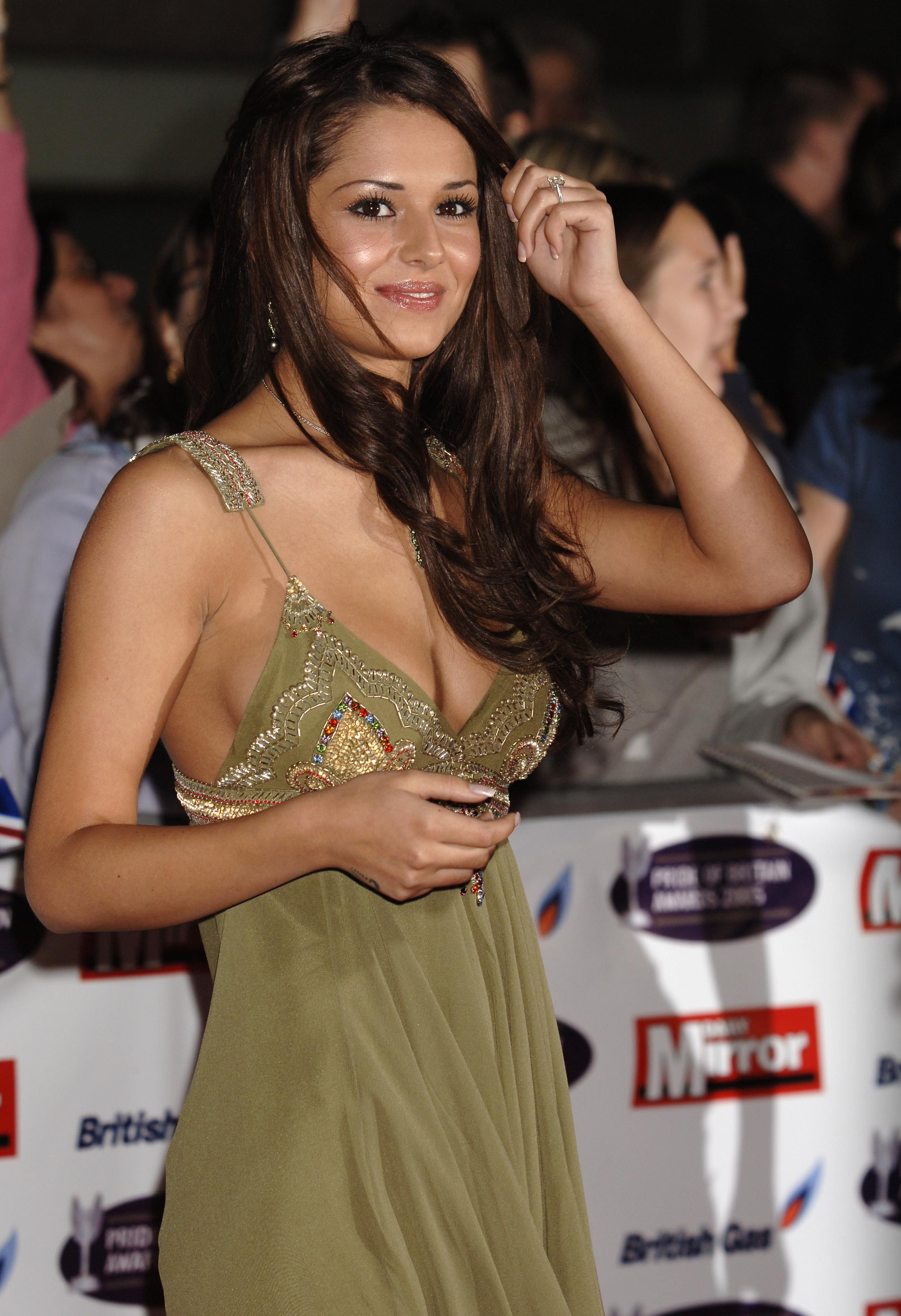Cheryl Tweedy of Girls Aloud arrives for the Daily Mirror's annual reader-nominated Pride Of Britain Awards,