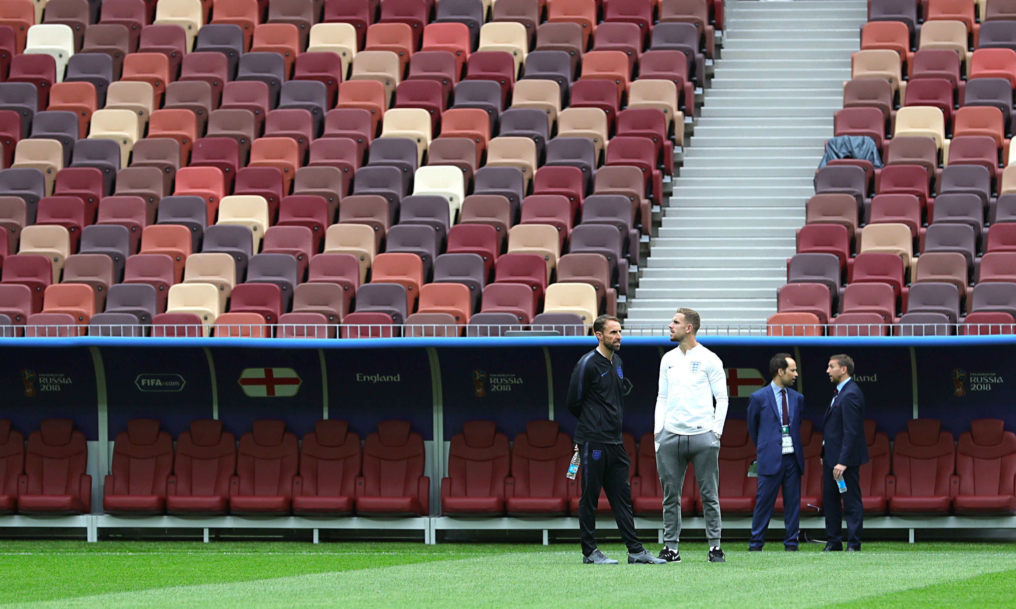 Gareth Southgate 'not ready for journey to end'