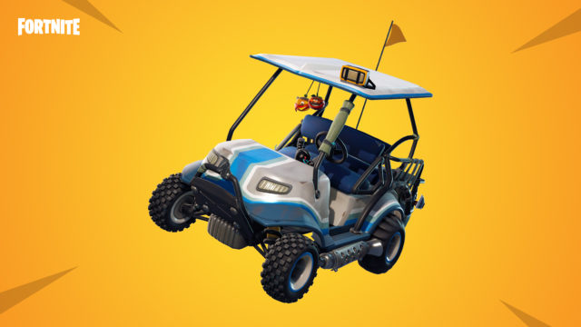 Fortnite's all-new All Terrain Kart