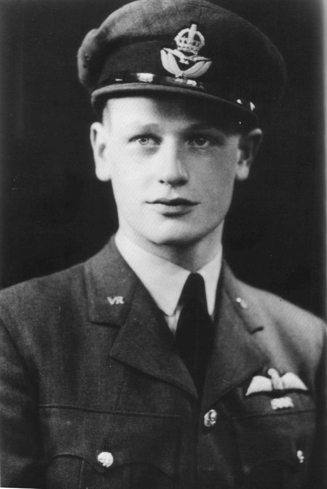 Wing Commander Tom Neil, who flew Hurricanes and Spitfires during the Battle of Britain, has died aged 97. He is pictured in his service years. (Battle of Britain Memorial Trust CIO/ PA)