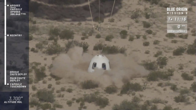 Bezos' spaceship reaches new heights in escape test flight