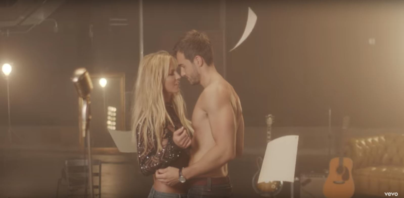 The two in the music video