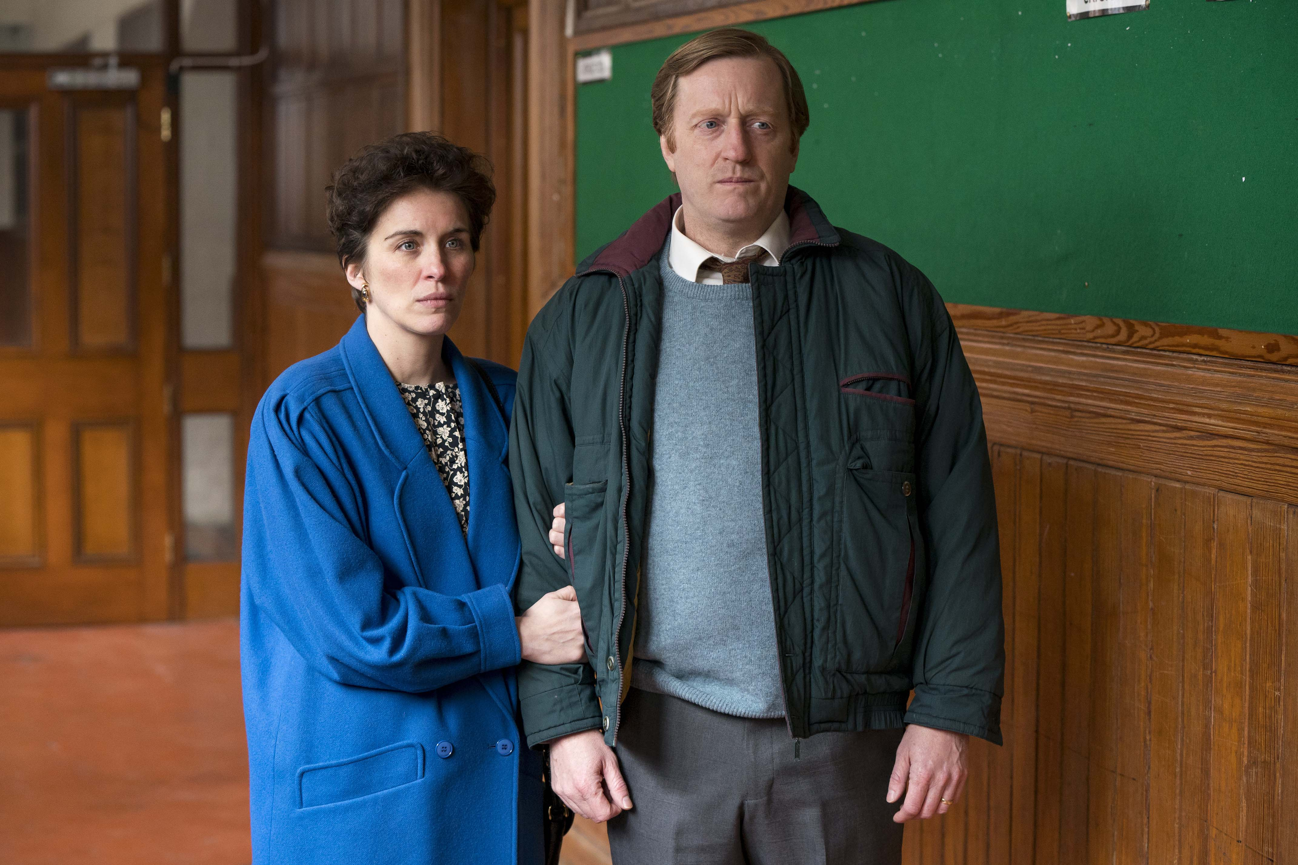 Vicky McClure and David Wilmot