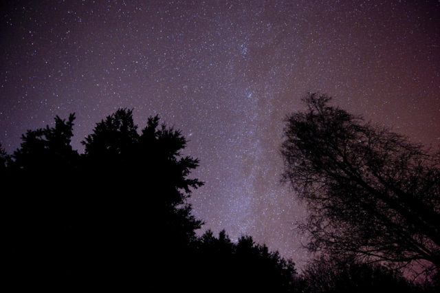 Exmoor dark sky national park.