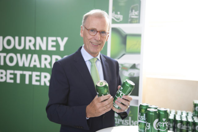 Carlsberg to ditch plastic can holders