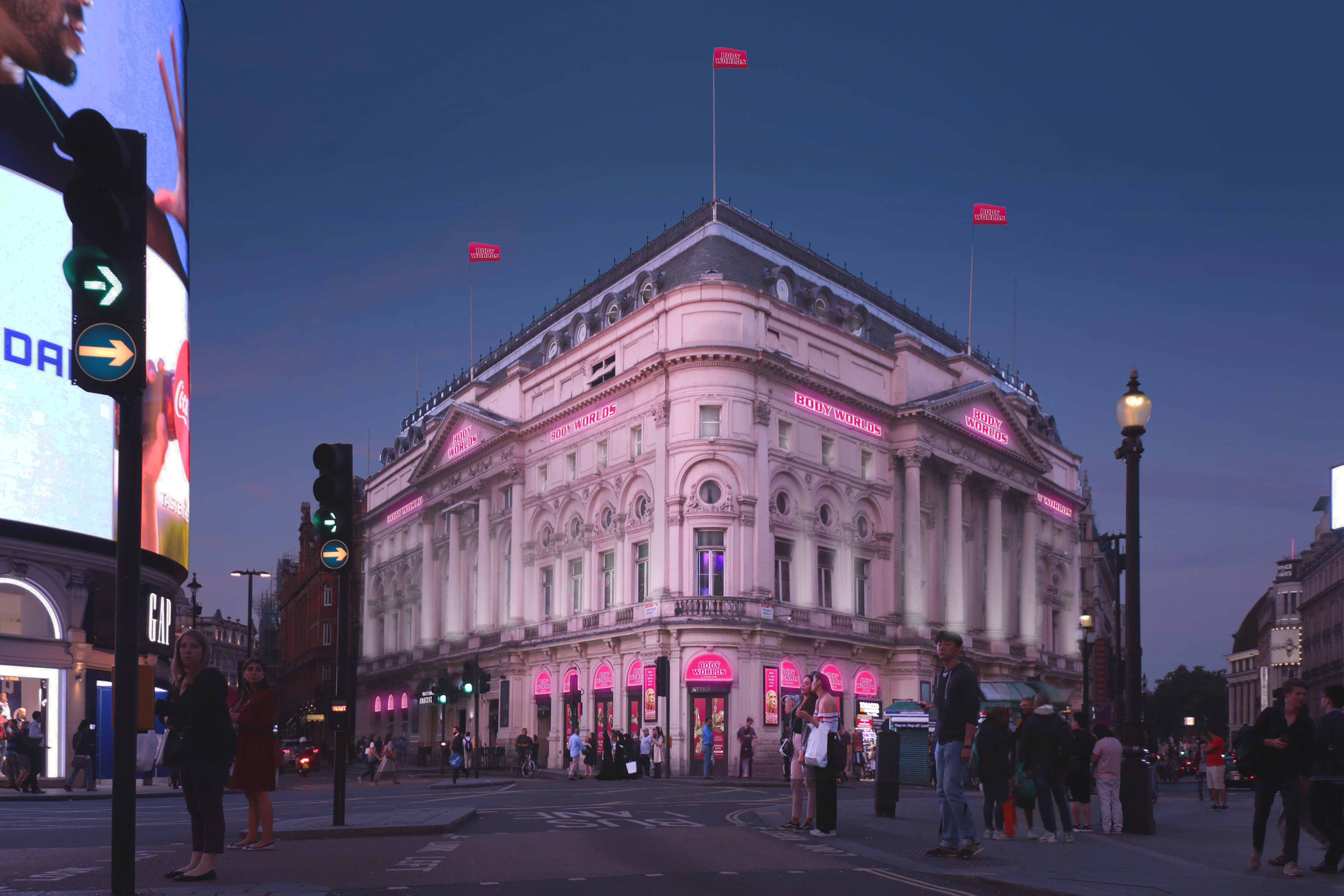 The London Pavilion in Piccadilly Circus