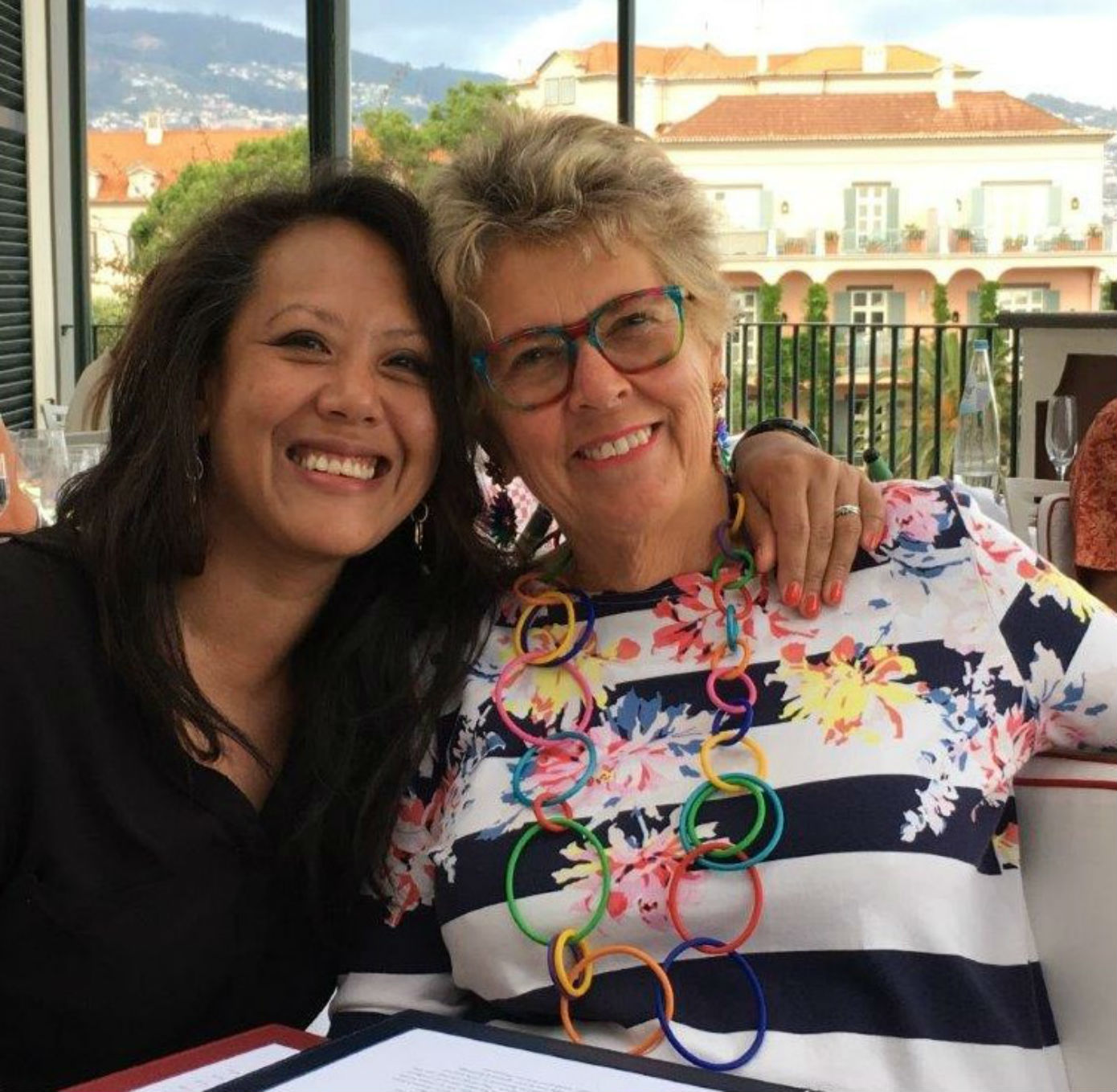 Prue Leith and her daughter