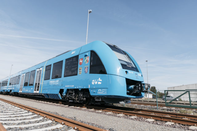 Coradia iLint hydrogen-powered train