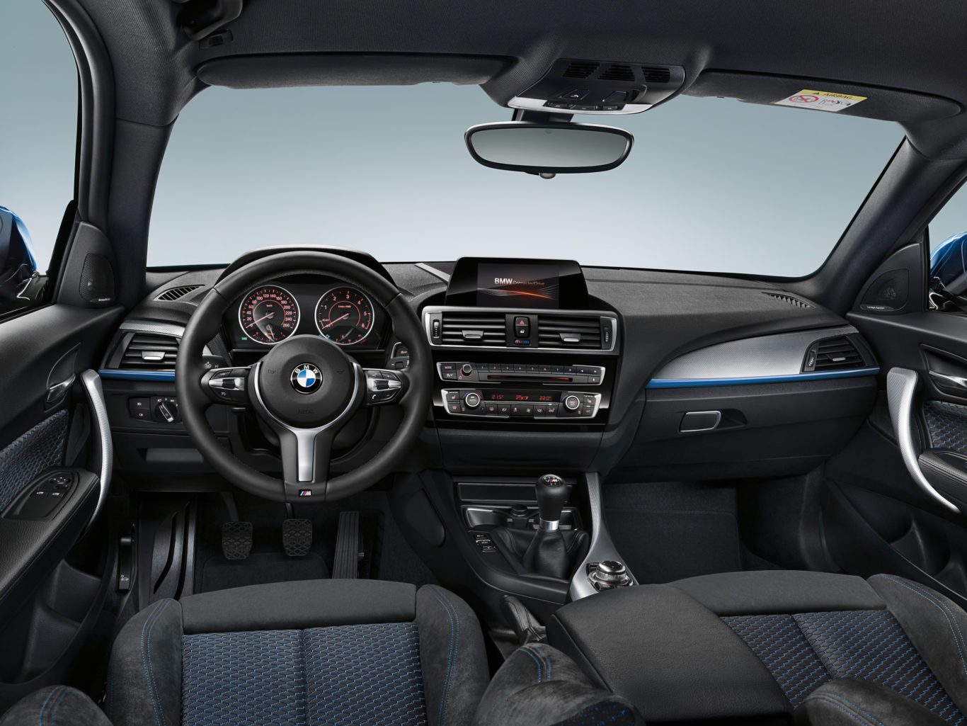 The interior of the 1 Series is solidly built