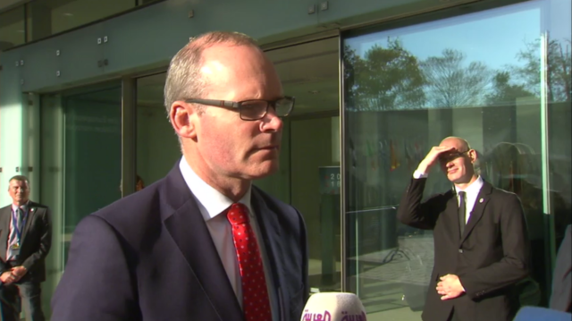 Irish foreign minister Simon Coveney said the backstop cannot be time-limited