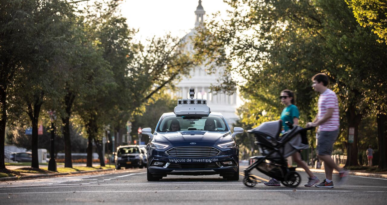 Ford to being self-driving car tests in Washington DC.
