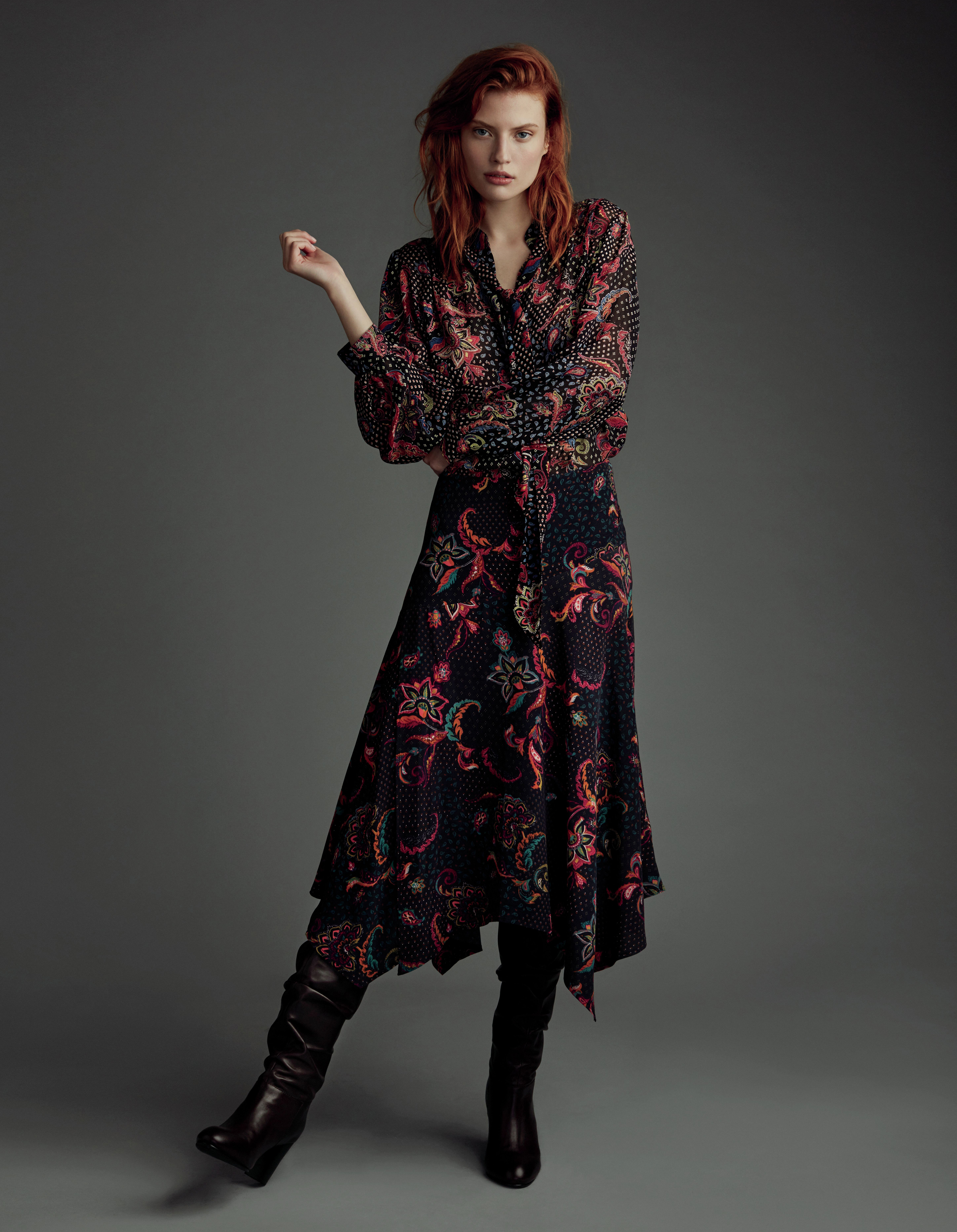 Wearing Boots With Long Dresses