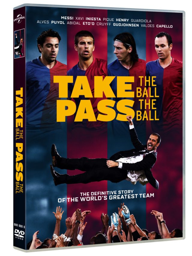 Pep Guardiola's Barcelona side set the benchmark. (TAKE THE BALL, PASS THE BALL/Universal Pictures Home Entertainment)