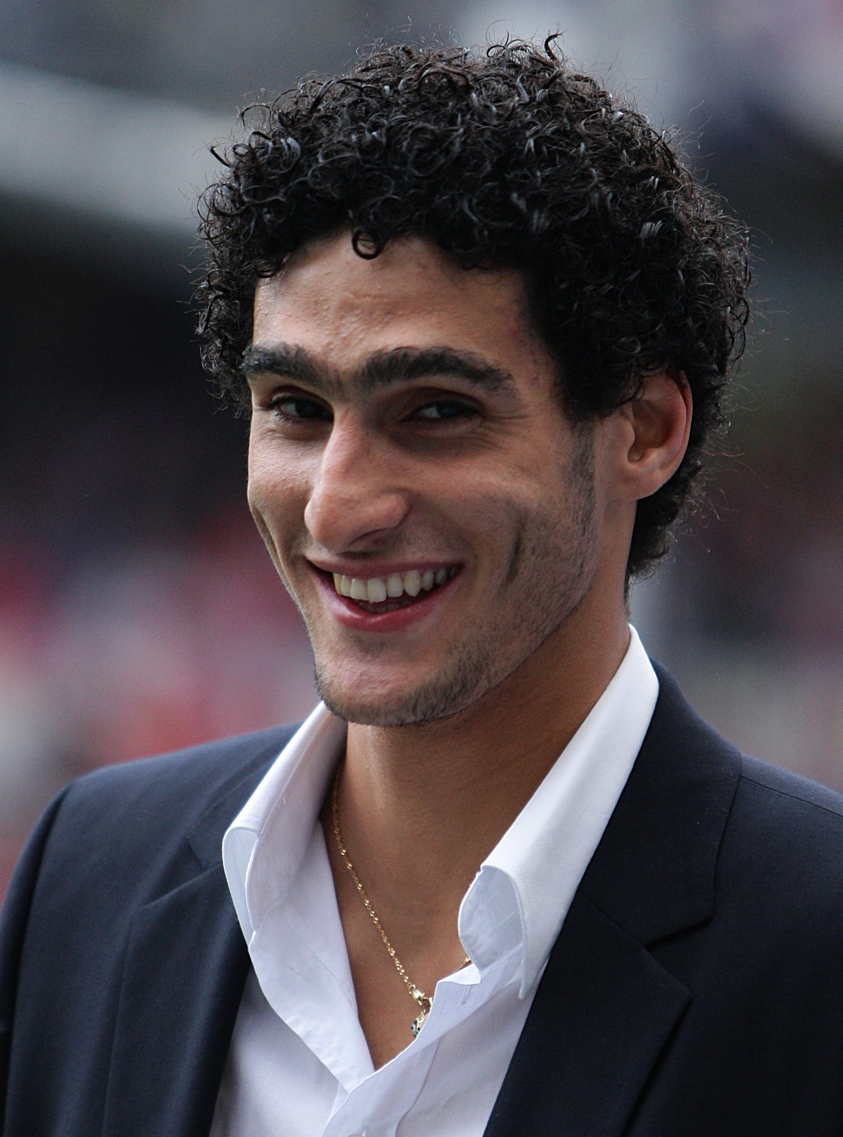 Fellaini in 2008.