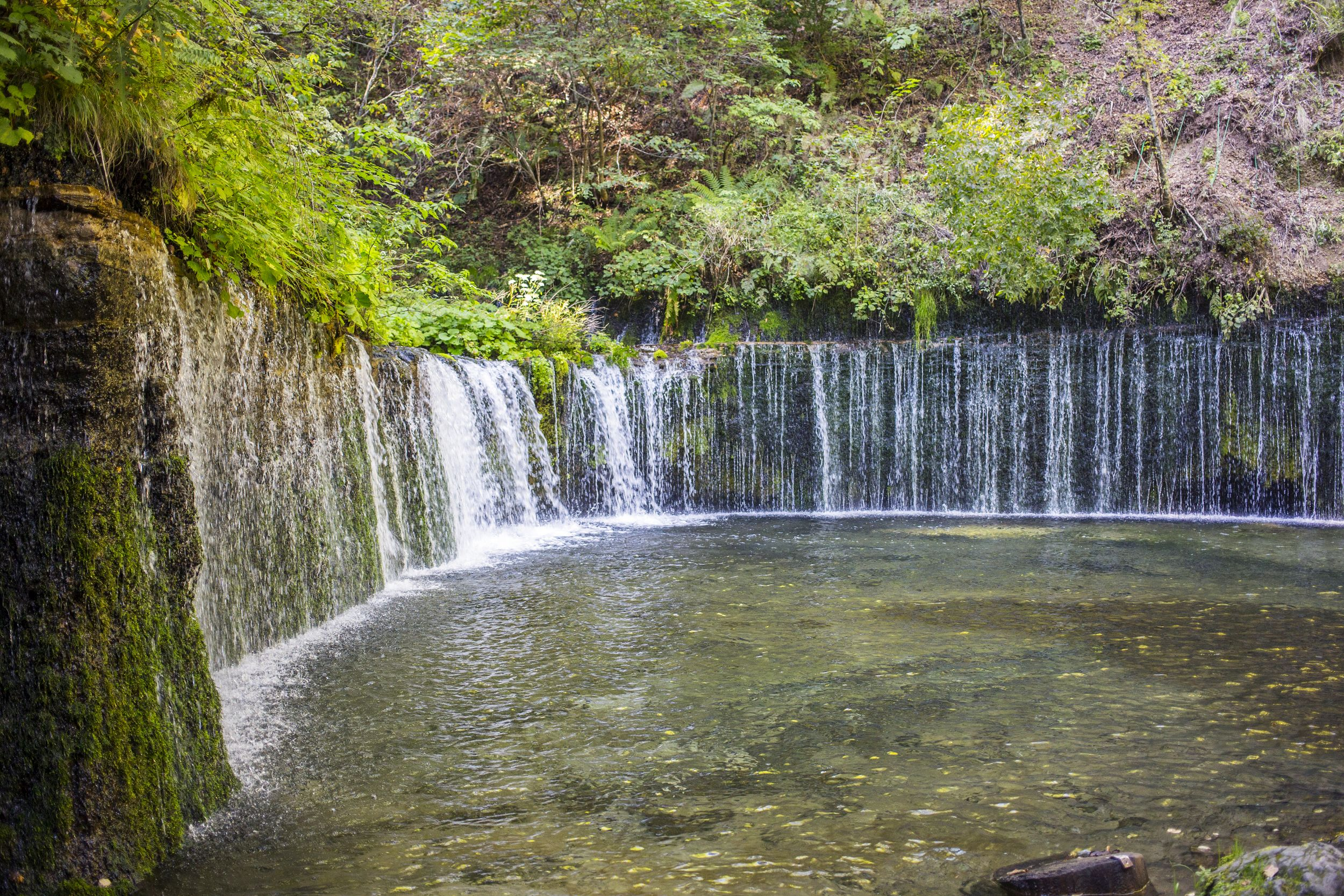 Waterfalls are one of the natural attractions in Karuizawa (David Lovejoy / PA)