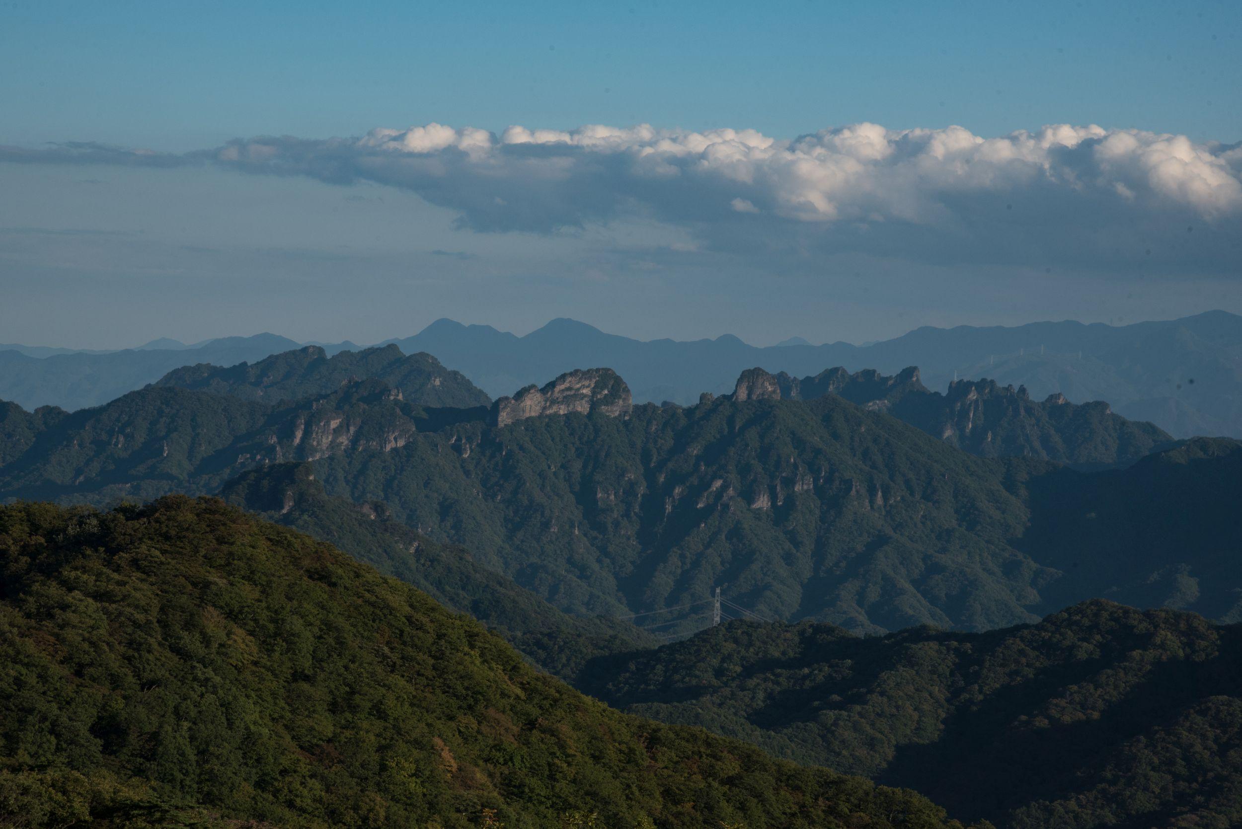 The Japanese Southern Alps (Sarah Marshall / PA)
