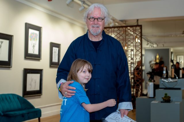 Sir Billy Connolly and Abby McConnell