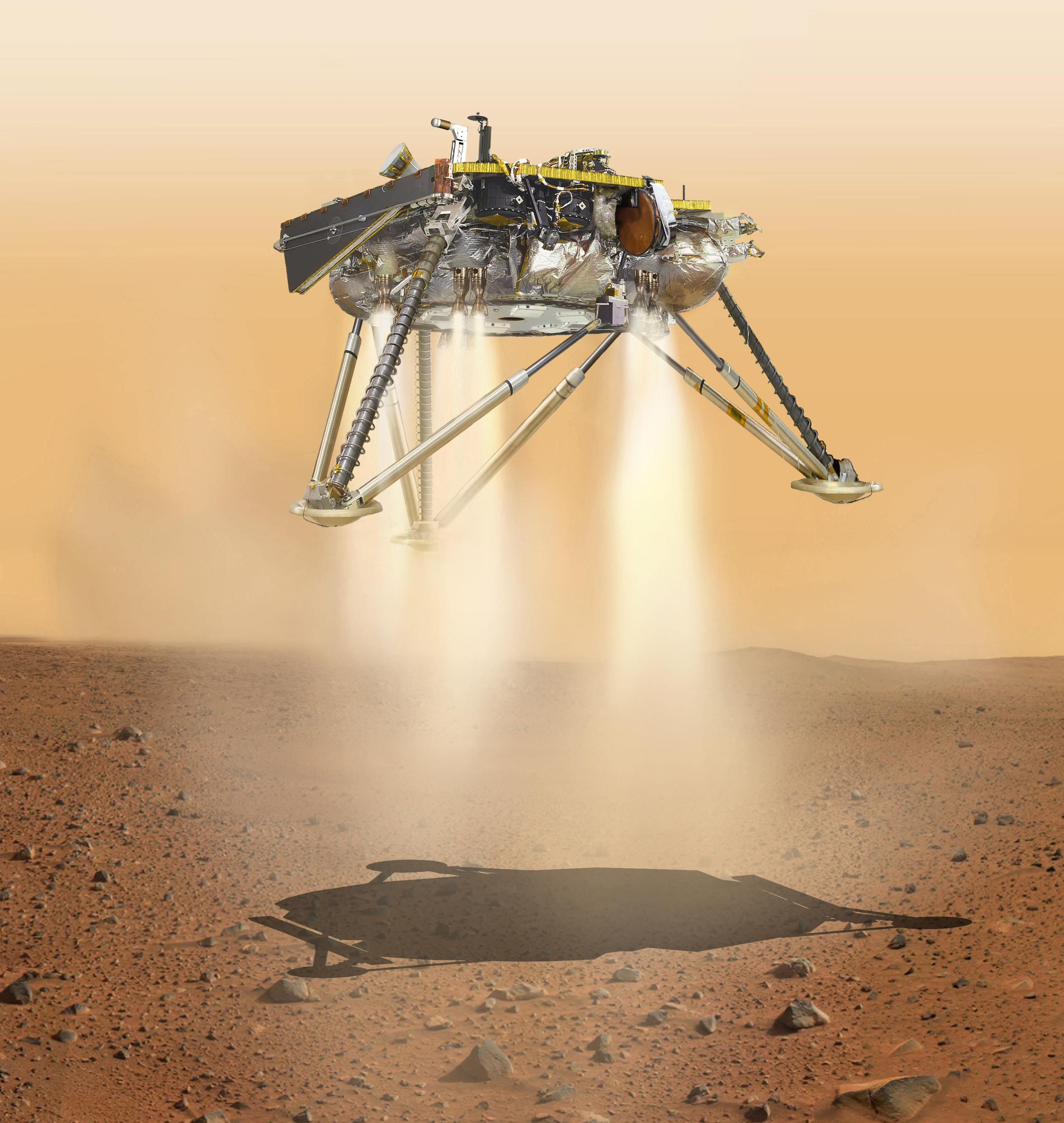 Curiosity Tweets Touching Message Ahead Of The InSight Mars Landing