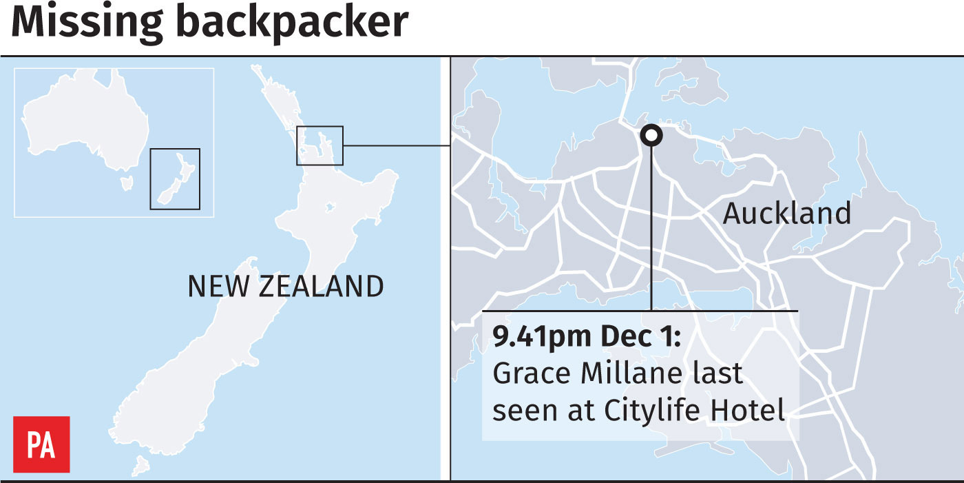 Suspect to be charged with murder of missing British backpacker Grace Millane