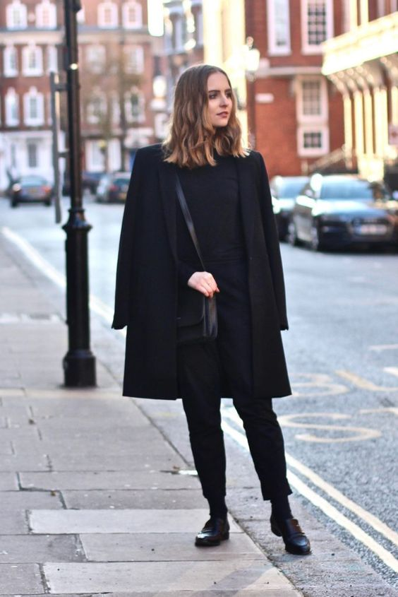an ethical fashion outfit shown on Pinterest