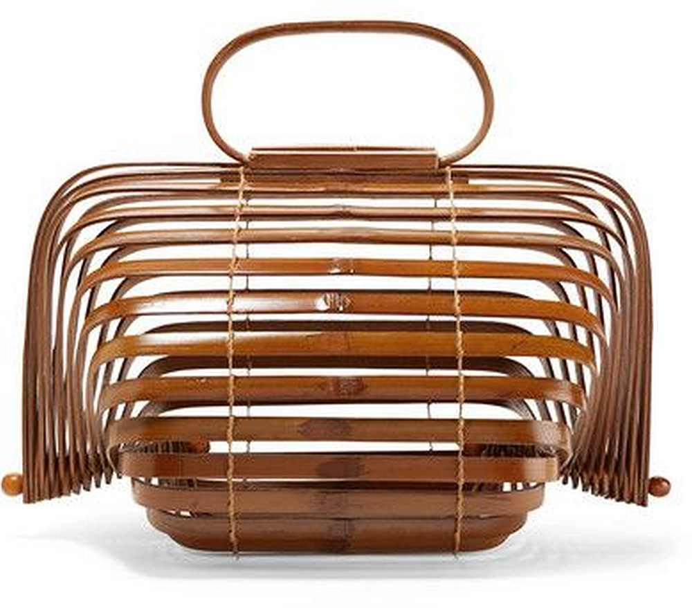 a bamboo bag shown on Pinterest